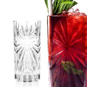 RCR 26277020006 Oasis Crystal Hi-Ball Cocktail Water Tumblers Glasses, 360 ml, Set of 6 Thumbnail 6