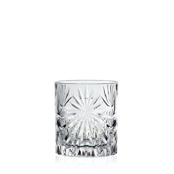 RCR 26278020006 Oasis Crystal Short Whisky Water Tumblers Glasses, 320 ml, Set of 6