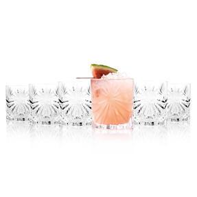 RCR 26278020006 Oasis Crystal Short Whisky Water Tumblers Glasses, 320 ml, Set of 6 Thumbnail 1