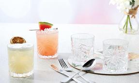RCR 26278020006 Oasis Crystal Short Whisky Water Tumblers Glasses, 320 ml, Set of 6 Thumbnail 6