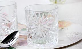RCR 26278020006 Oasis Crystal Short Whisky Water Tumblers Glasses, 320 ml, Set of 6 Thumbnail 7