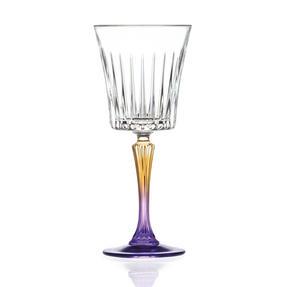 RCR 26320020006 Gipsy Crystal Wine Glasses Goblets, 298 ml, Set of 6