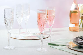 RCR 26327020006 Oasis Crystal Champagne Flutes Glasses, 160 ml, Set of 6 Thumbnail 2