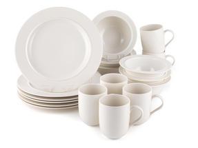 Alessi La Bella Tavola Porcelain 6-Place Setting Dining Set Thumbnail 1