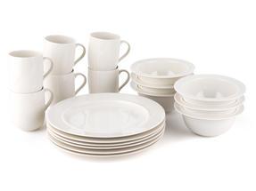 Alessi La Bella Tavola Porcelain 6-Place Setting Dining Set Thumbnail 3