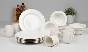 Alessi La Bella Tavola Porcelain 6-Place Setting Dining Set Thumbnail 2