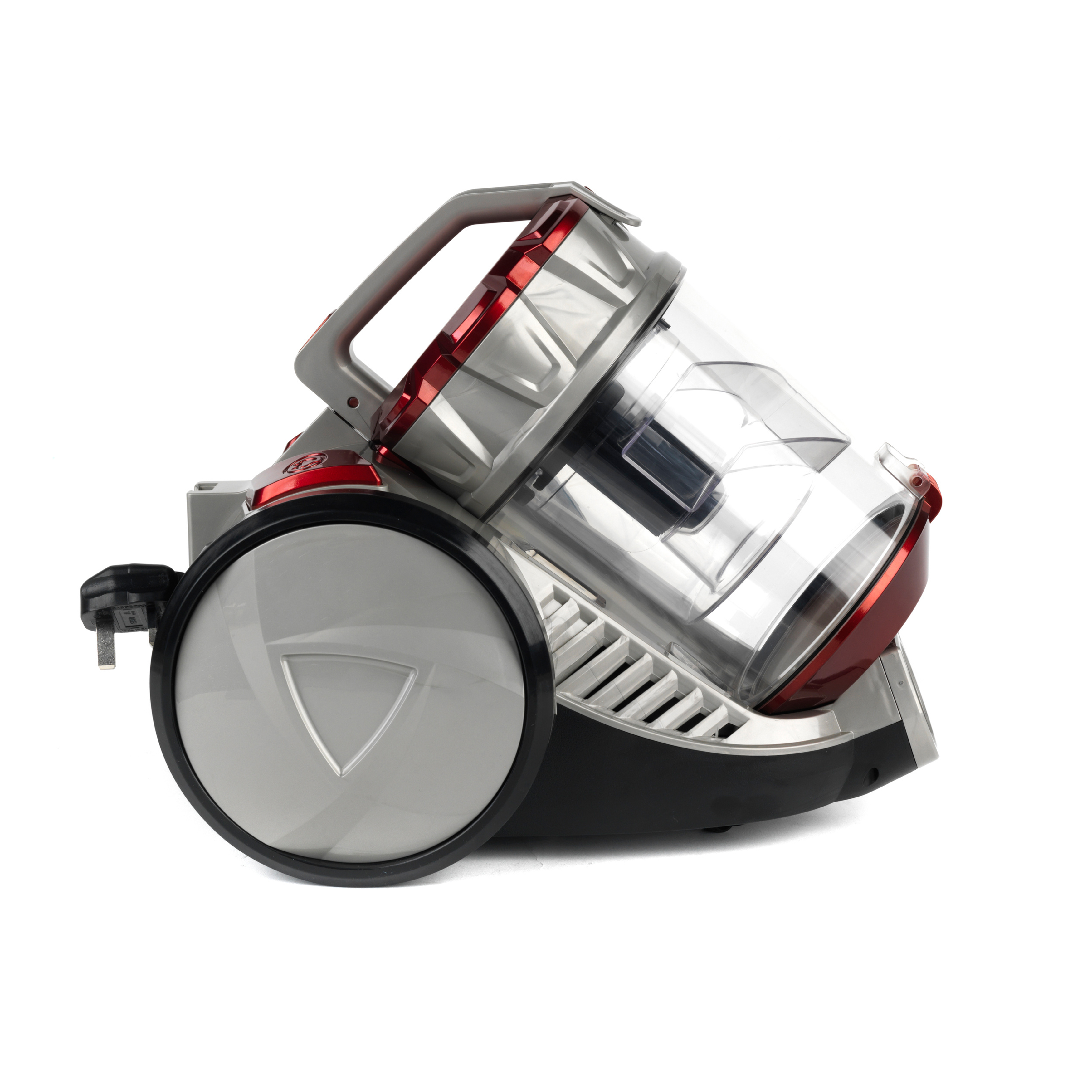 Beldray Compact Cylinder Dual Cyclonic Pet Plus Vacuum Cleaner, 700 W, Red