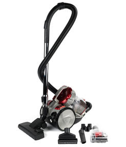 Beldray BEL0666 Compact Cylinder Dual Cyclonic Pet Plus Vacuum Cleaner, 700 W, Red Thumbnail 8