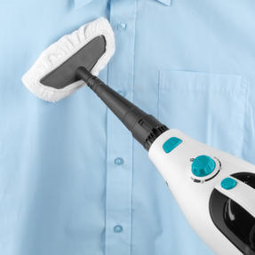 Beldray BEL0698 12 in 1 Microfibre Brush Nozzle Grouting Garment Upholstery Window Mirror Flexi Steam Cleaner, 1300 W, Turquoise Thumbnail 12
