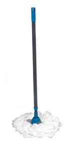Beldray LA026392 Telescopic Extendable Microfibre Mop, 120 cm, White