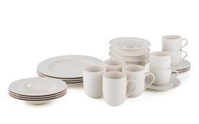 Alessi La Bella Tavola Porcelain 4-Place Setting Dining Dinnerware Set Thumbnail 2