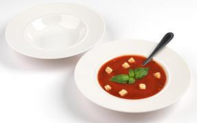 Alessi La Bella Tavola Porcelain 4-Place Setting Dining Dinnerware Set Thumbnail 4