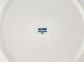 Alessi La Bella Tavola Porcelain 4-Place Setting Dining Set with Serving Bowl & Serving Platter Thumbnail 5