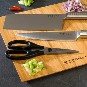 Sekitobei P500820 Kitchen Scissors, Stainless Steel Thumbnail 4