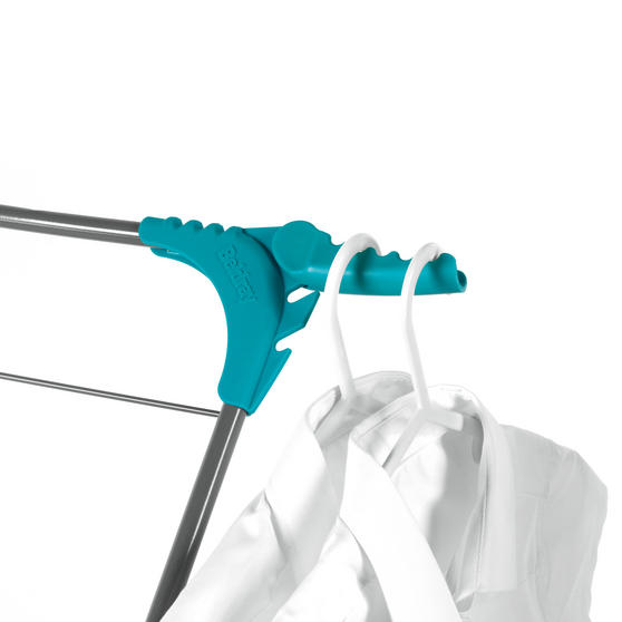 Beldray Elegant 3 Tier Clothes Airer, 15 m Drying Space, Turquoise Thumbnail 4