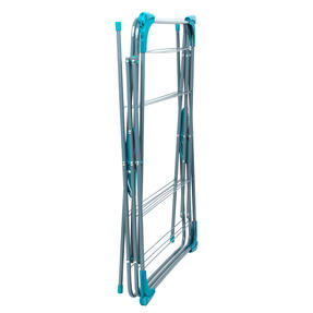 Beldray LA050397 Elegant 3 Tier Clothes Airer, 15 m Drying Space, Turquoise Thumbnail 7