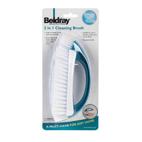 Beldray 2 Piece Cleaning Set with Duster and Scrubbing Brush, Turquoise Thumbnail 7