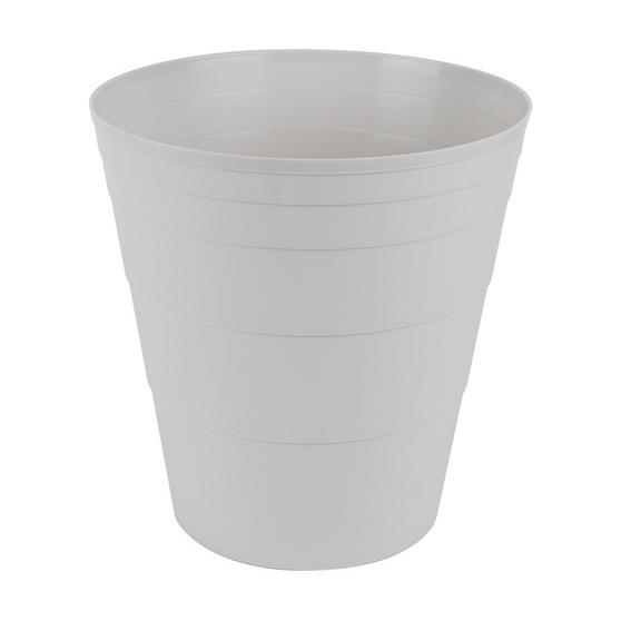 Beldray Office Bin Waste Paper Basket, Grey Thumbnail 1