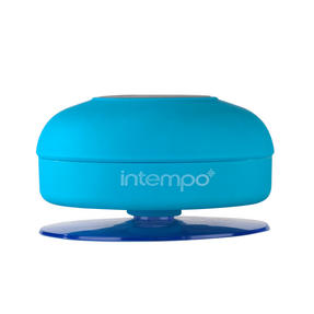 Intempo EE1303BLU Bluetooth Shower Speaker , 3 W , Blue Thumbnail 4