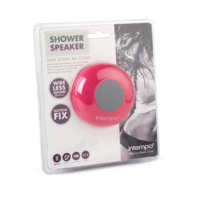 Intempo EE1303PK Bluetooth Shower Speaker , 3 W , Pink Thumbnail 5