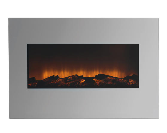 Beldray EH2206MOBQVC Corsica Electric Wall Fire with LED Flame Effects