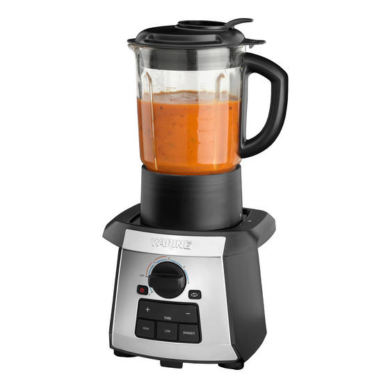 Waring WSM1U All-in-One Non-Stick Soup Maker Blender Cooker, 1.75 Litre, 1000 W