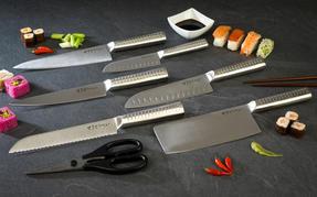 Sekitobei P500807 20 cm Japanese Cook?s Knife, Stainless Steel, 10 Year Guarantee Thumbnail 4