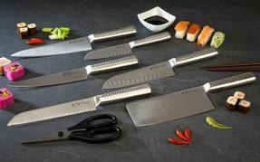 Sekitobei P500810 18.3 cm Japanese Carving Knife, Stainless Steel, 10 Year Guarantee Thumbnail 4