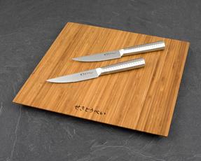 Sekitobei P500814 11 cm Japanese Steak Knives, Stainless Steel, 10 Year Guarantee, Set of 2 Thumbnail 2