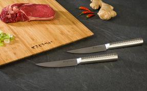 Sekitobei P500814 11 cm Japanese Steak Knives, Stainless Steel, 10 Year Guarantee, Set of 2 Thumbnail 3