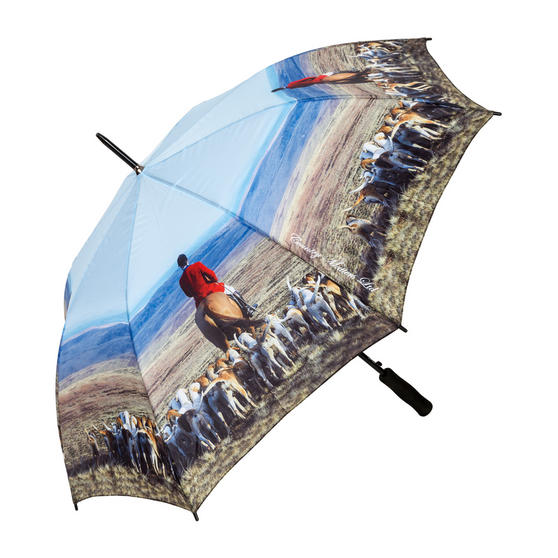 Country Matters CMUMB0031 Hounds and Master Large Windproof Automatic Golf Umbrella