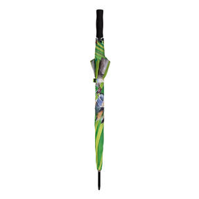 Country Matters CMUMB0038 Garden Birds Large Windproof Automatic Golf Umbrella Thumbnail 2