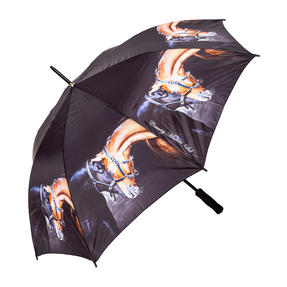 Country Matters CMUMB0084 Old Friends Large Windproof Automatic Golf Umbrella Thumbnail 1