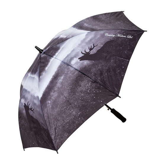 Country Matters CMUMB0113 Roaring Stag Large Windproof Automatic Golf Umbrella