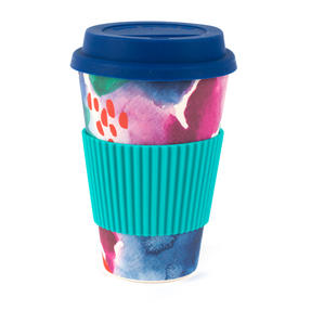 Cambridge CM05777 Chroma Bamboo Eco Travel Mug Thumbnail 1