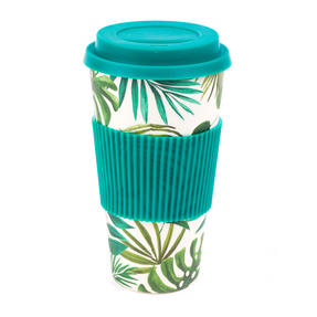 Cambridge CM05909 Large Polynesia Bamboo Eco Travel Mug Thumbnail 1