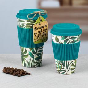 Cambridge CM05909 Large Polynesia Bamboo Eco Travel Mug Thumbnail 3