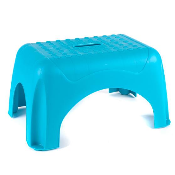 Beldray Heavy Duty DIY Hobby Step Stool, Maximum Capacity 150 kg, Turquoise Thumbnail 1