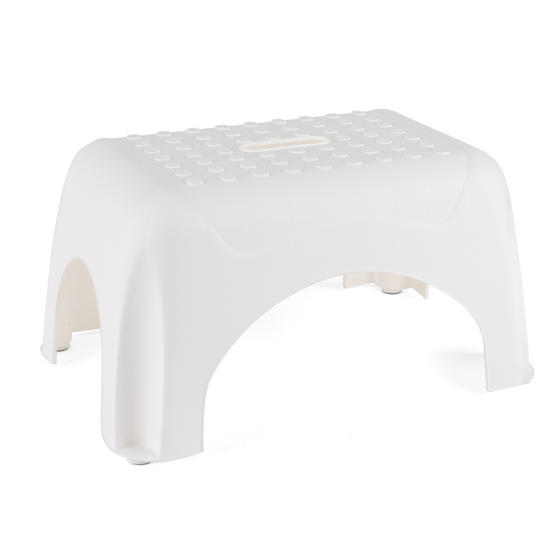 Beldray LA038616W Heavy Duty DIY Hobby Step Stool, Maximum Capacity 150 kg, White