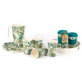 Cambridge CM05920 Polynesia Bamboo Water Juice Reusable Cups, Set of 4 Thumbnail 5