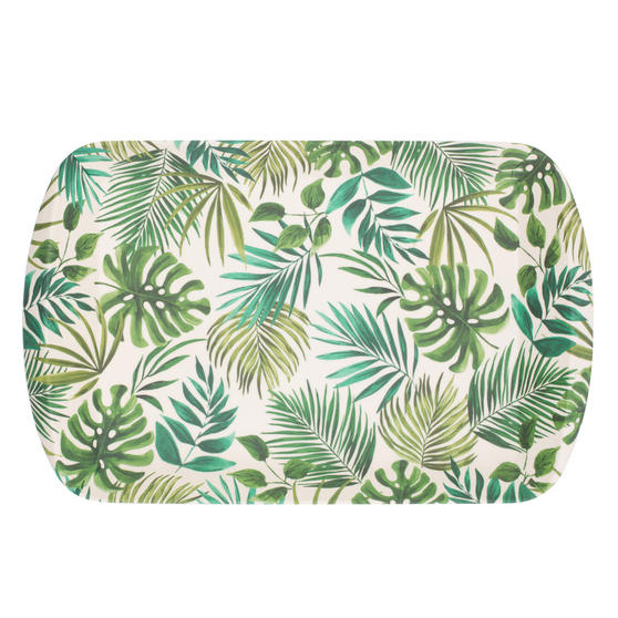 Cambridge Polynesia Large Bamboo Carry Serving Lap Food Tray