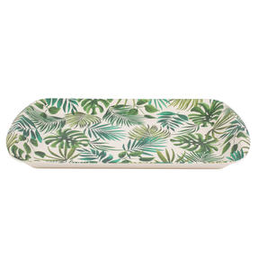 Cambridge CM05922 Polynesia Large Reusable Tray |Perfect for Serving Drinks at Parties