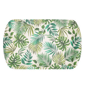 Cambridge CM05922 Polynesia Large Reusable Tray |Perfect for Serving Drinks at Parties Thumbnail 3
