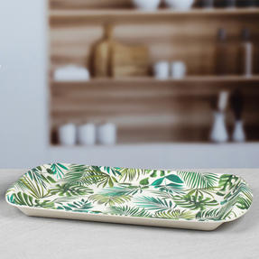 Cambridge CM05922 Polynesia Large Reusable Tray |Perfect for Serving Drinks at Parties Thumbnail 4