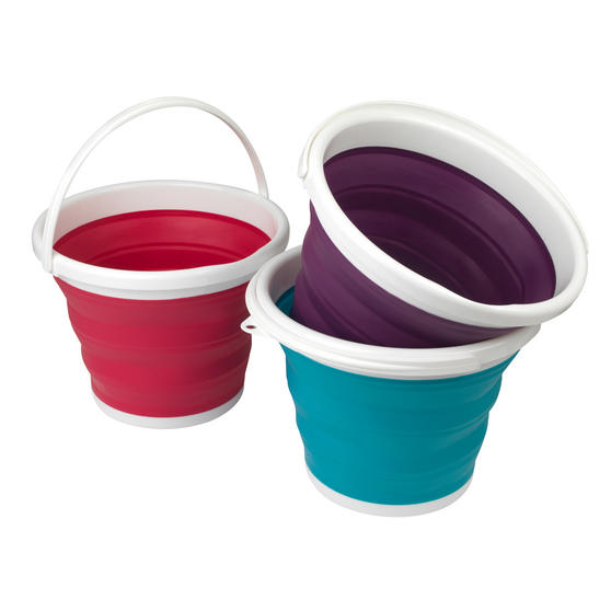 Beldray Collapsible Bucket, 10 Litre, Red