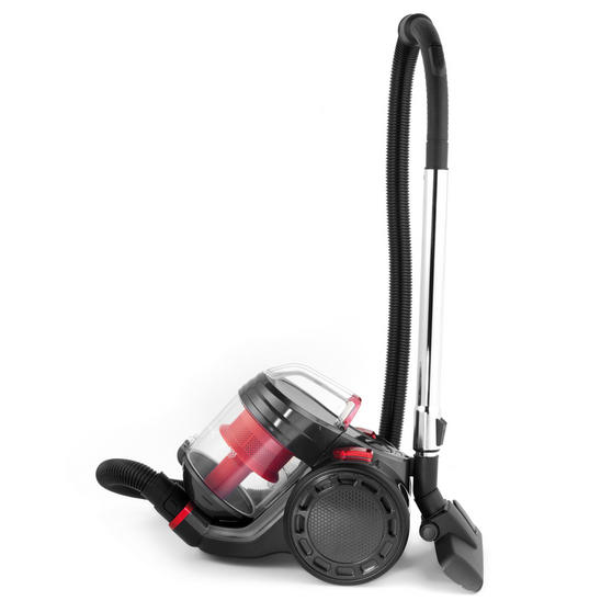Prolectrix EF0263WK Compact Cylinder Vac Vacuum Cleaner, 2 Litre, 700 W