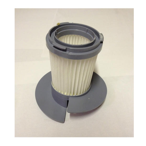A Grey Beldray Hepa Filter Spare Part For Model Number Bel0087