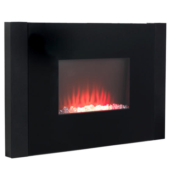 Beldray Atlanta Colour Changing Wall Fire with Bluetooth Audio Speakers