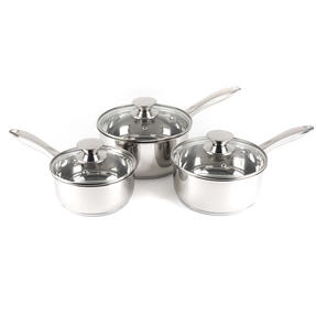 Russell Hobbs BW06571 Classic Collection 3 Piece Saucepan Set, 16/18/20 cm Thumbnail 2