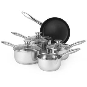 Russell Hobbs BW06572 Classic Collection 5 Piece Pan Set, 14/16/18/20/24 cm Thumbnail 4